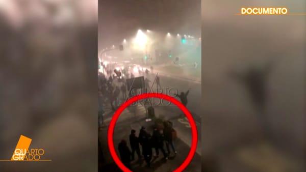 Scontri Inter-Napoli, il video inedito: ecco Belardinelli subito dopo essere stato travolto