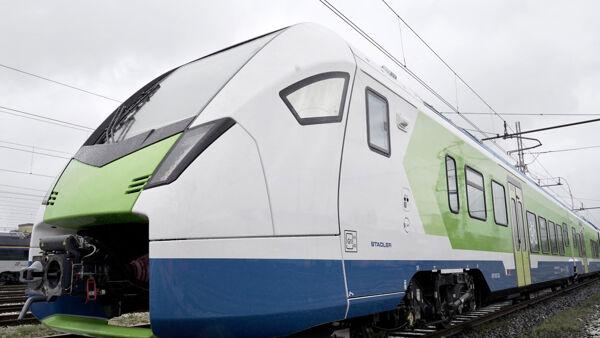 La Lombardia sta provando un nuovo treno ibrido che non vibra e non fa rumore