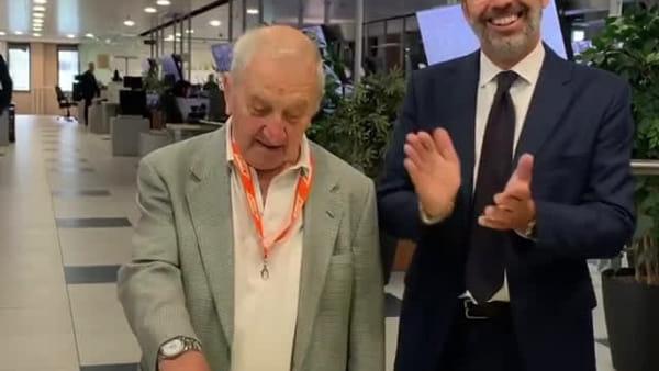"""Ecco """"Sciur Brambilla"""": Giancarlo, il primo macchinista della metro verde di Milano. Video"""