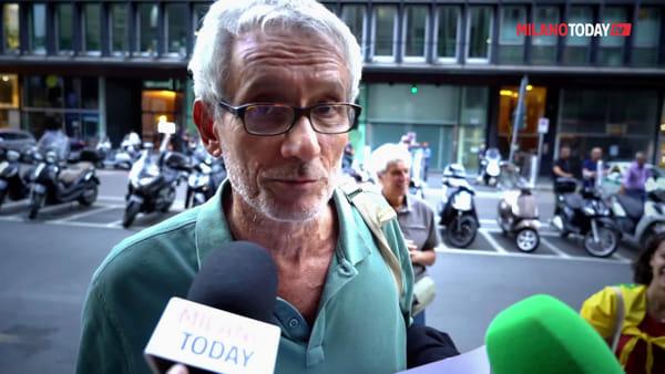 Incendi in Amazzonia, gli attivisti per il clima protestano davanti al consolato brasiliano di Milano