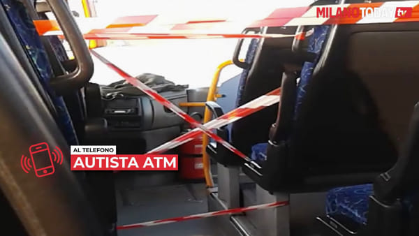 """Coronavirus, parla un autista ATM: """"Troppa gente sui bus a Milano e l'azienda non ci protegge"""""""