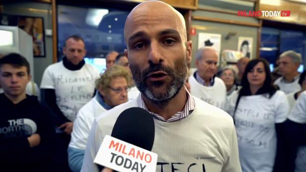 """Milano, protesta in via Ripamonti: """"Ridateci le fermate del tram, gli anziani non possono più fare la spesa"""""""
