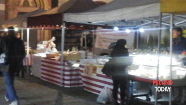 """Piazza Sant'Eustorgio, mercatino bio """"Il buono in tavola"""""""