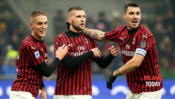 Video gol e sintesi Milan-Juve 1-1, reti di Rebic e Ronaldo: semifinale di Coppa Italia