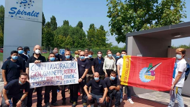 The Milan factories on strike against closures and layoffs thumbnail