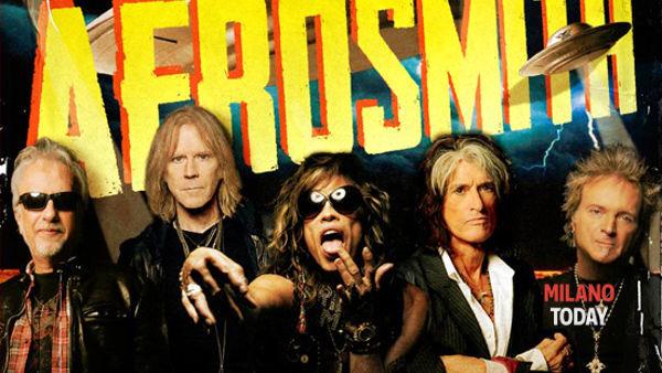 Concerto degli Aerosmith a Milano mercoledì 25 giugno 2014