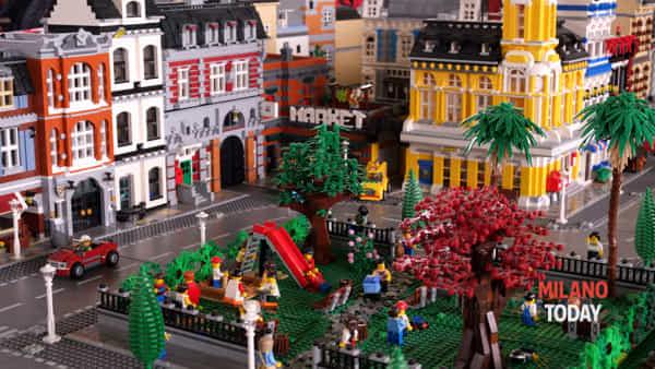 A Milano la maxi mostra dei Lego: intere città e mondi ricostruiti