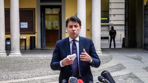 """Conte incontra Sala e Fontana a Milano: """"Nella fase 2 dovremo convivere col virus"""""""