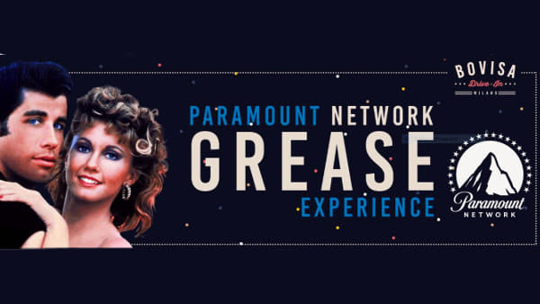 Milano Movie Week: Paramount Network Grease Experience e Dj Set @Bovisa Drive-in