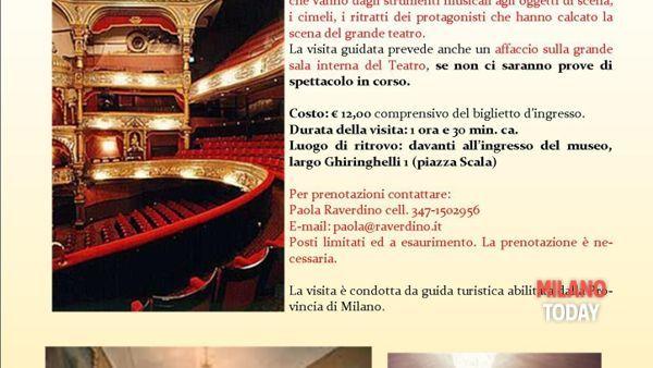 Visita guidata al museo teatrale alla Scala