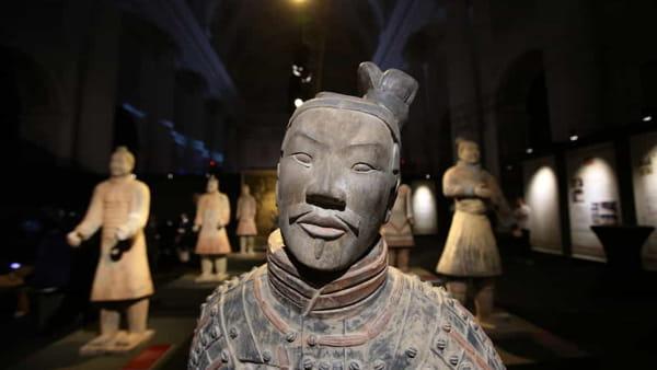 """""""L'esercito di Terracotta e il primo imperatore della Cina"""": la mostra all Fabbrica del Vapore"""