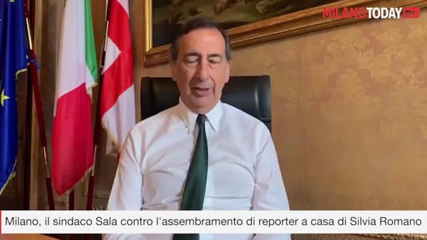 """Milano, Sala contro l'assembramento di giornalisti da Silvia Romano: """"Non ci sono categorie di serie A e B"""""""