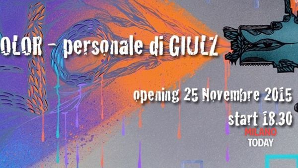 Fight color, mostra personale di Giulz