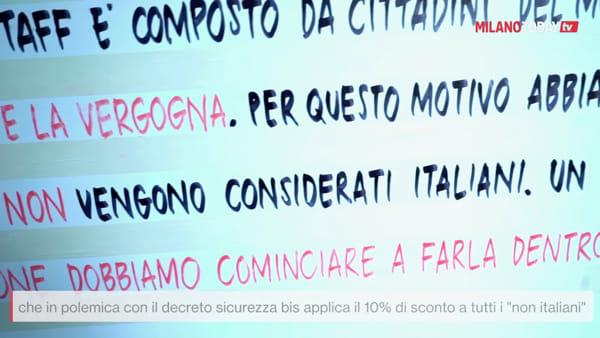 Milano, 10% di sconto agli stranieri: la protesta del bistrot Madama contro il decreto sicurezza bis