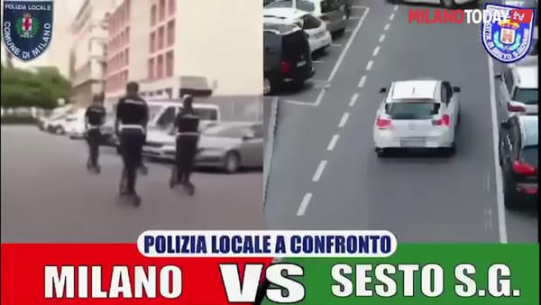 """Sesto, lo sfottò del sindaco Di Stefano ai Ghisa di Milano: """"Loro girano in monopattino, i miei sventano rapine"""""""