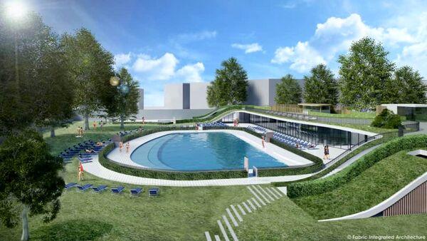 Sei scivoli 'sliding hill', tre piscine, aree giochi, negozi: il nuovo parco acquatico milanese