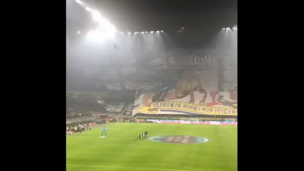"Inter-Milan: le coreografie delle curve per il derby, tra Visconti e ""zabetta"". Video"