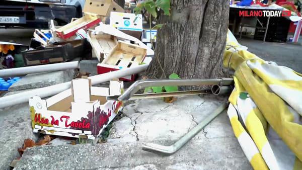 """Milano, residenti di via Benedetto Marcello contro il mercato: """"Viola il vincolo ambientale"""""""