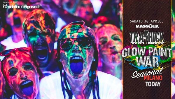 The glow paint war