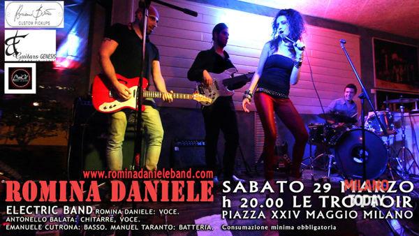 Romina Daniele band live a Le Trottoir