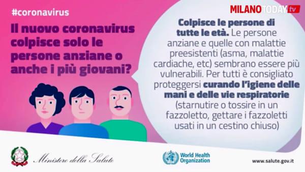 """Coronavirus, il video tutorial del Ministero della Salute: """"Ecco cosa fare se avete sintomi"""""""
