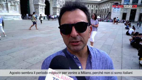 """Milano si conferma meta di ferragosto per i turisti stranieri: """"Siamo qui per il Duomo e lo shopping"""""""