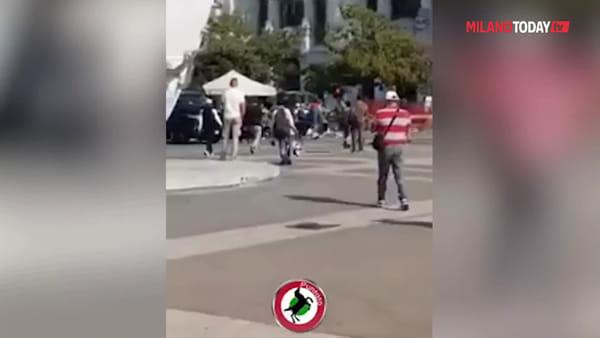 Milano, militare accoltellato alla stazione Centrale: il video dell'aggressione
