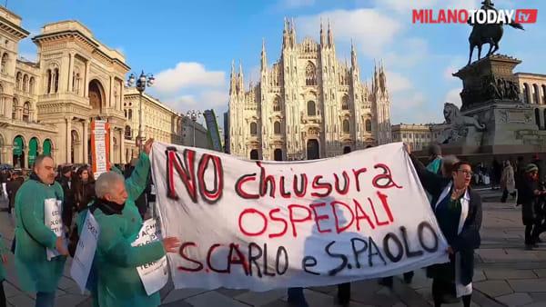 """Milano, chiusura degli ospedali S. Carlo e S. Paolo: """"Parte di città resterà senza sanità pubblica"""". Ma la direzione nega"""