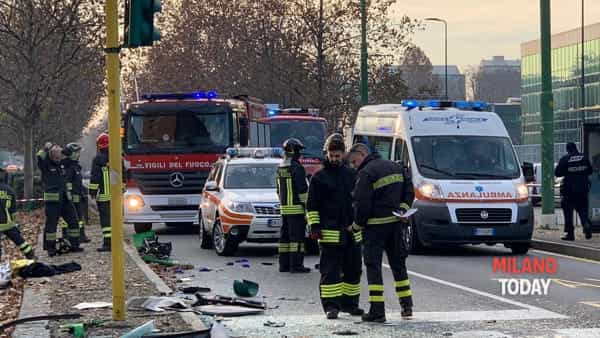 Incidente in viale Bezzi - 3
