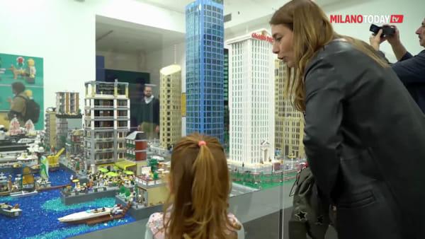 'I love Lego', al museo della Permanente di Milano la mostra dei celebri mattoncini giocattolo