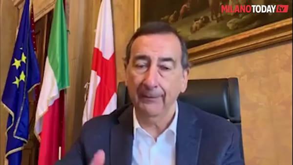 """Emergenza Covid a Milano, la proposta del sindaco Sala: """"Fine isolamento graduale in base all'età"""""""