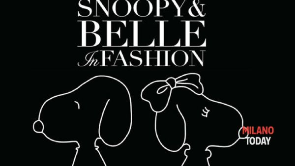 """Snoopy & Belle in Fashion""in mostra a Milano dal 24 ottobre"