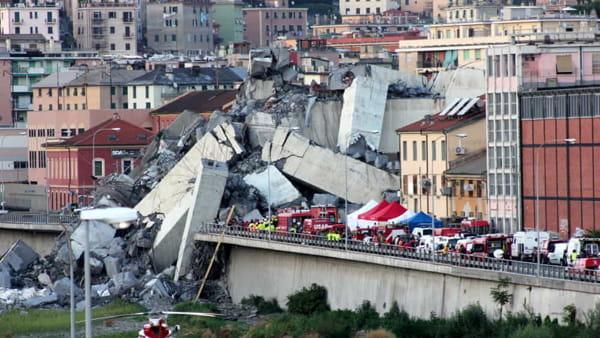 Ponte Morandi - Foto © GenovaToday