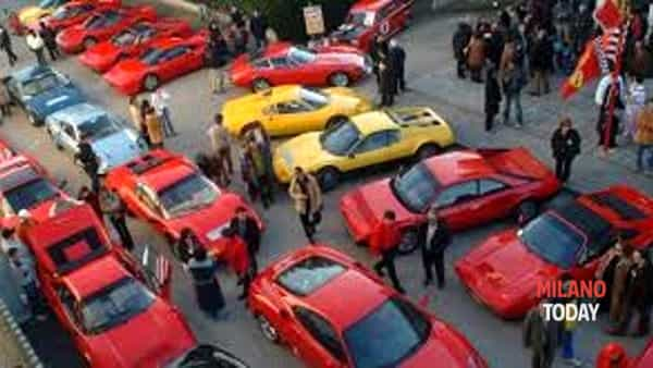 35° raduno per il Ferrari club Milano