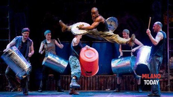 """""""Stomp"""", lo spettacolo al teatro Barclays Teatro Nazionale"""
