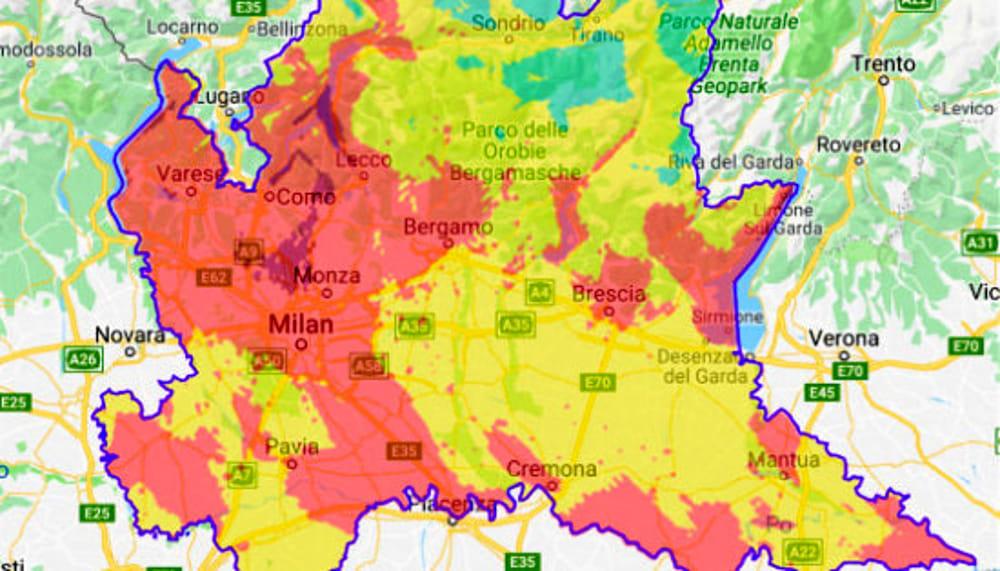 Cartina Inquinamento Lombardia.Inquinamento Legambiente Lancia L Allarme Ozono Tenete Le