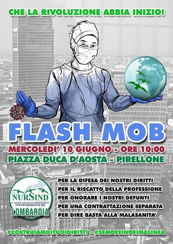 flash mob infermieri-2
