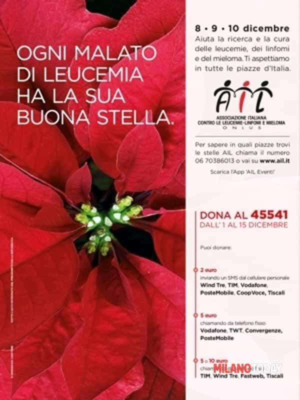 Stella Di Natale Ail 2021.Stelle Di Natale Ail In 4800 Piazze Italiane 8 9 10 Dicembre