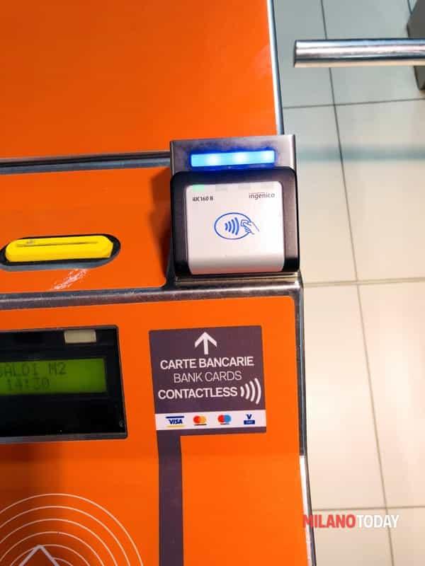 carta credito tornello metro atm-2