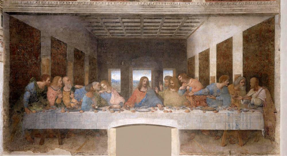 L'ultima cena di Leonardo Da Vinci