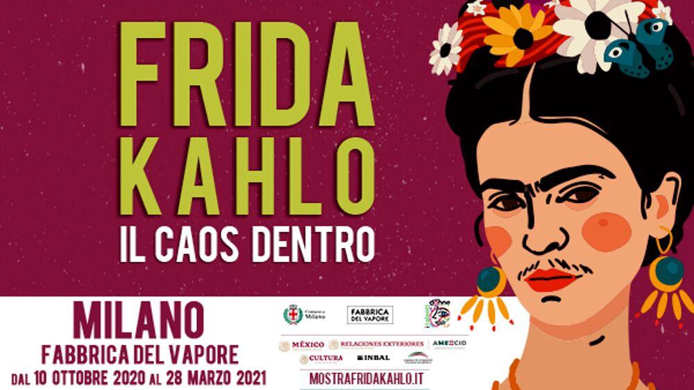"""Frida Kahlo - Il Caos dentro"". A Milano una grande mostra dedicata all'artista messicana"