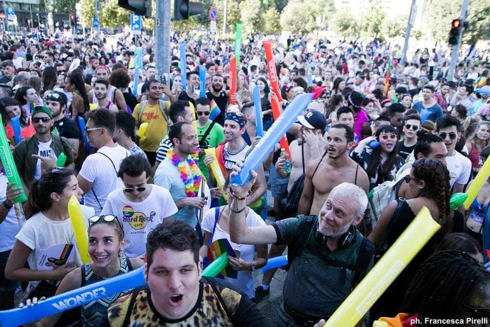 Milano Pride 2018 (da Facebook/Milano Pride)