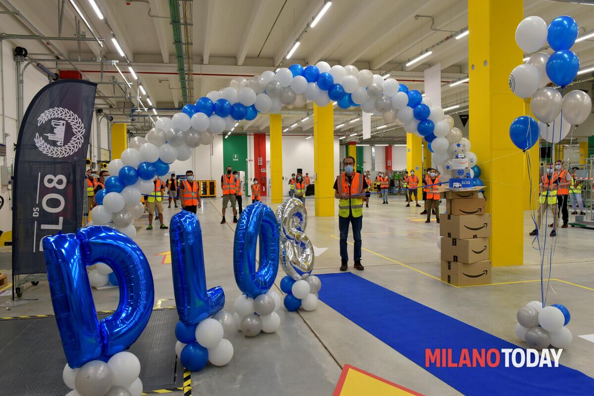 inaugurazione del centro di smistamento Amazon Pioltello-2