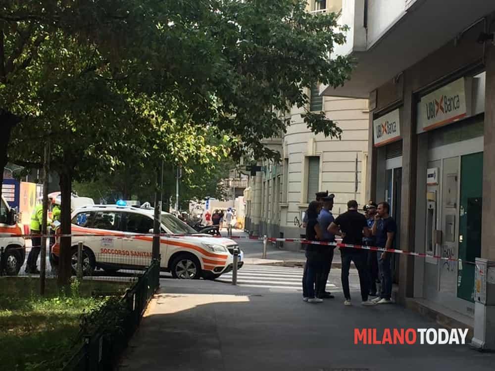 rapina ubi banca milano