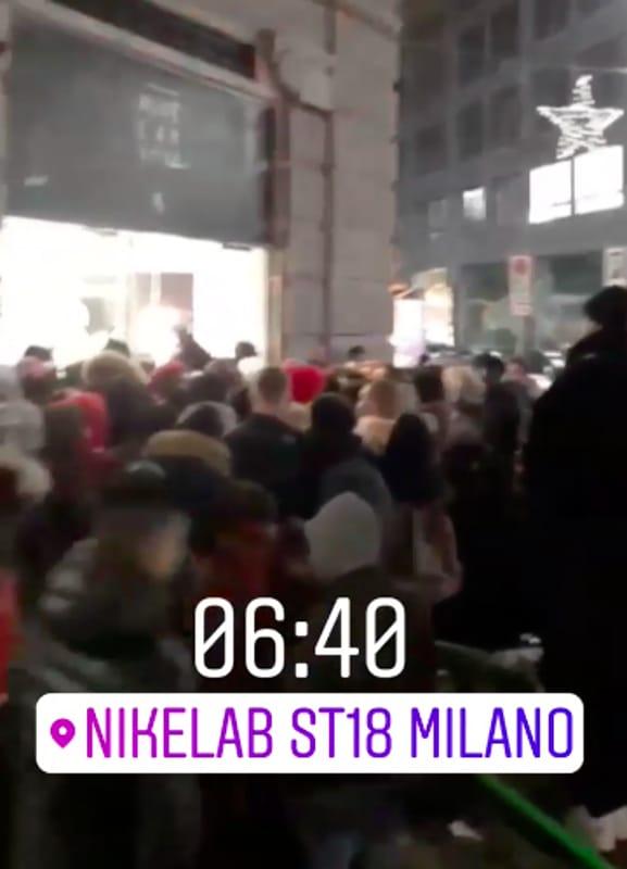 negozio nike scarpe