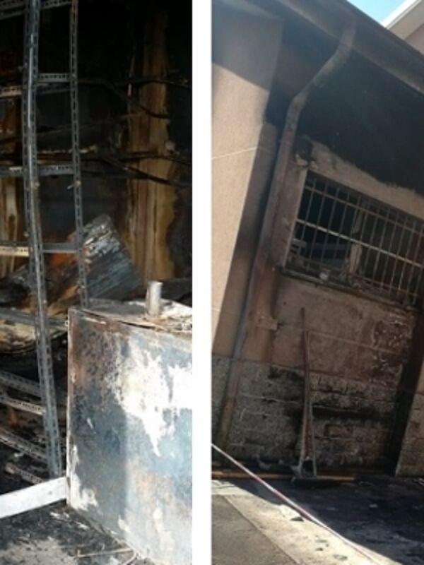 L'associazione sportiva Gsd serenissima di Cinisello chiede l'aiuto di tutti per ripartire dopo l'incendio