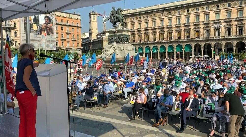 """Cub: """"Milano in piazza contro aumento età pensionabile deciso da Draghi"""""""