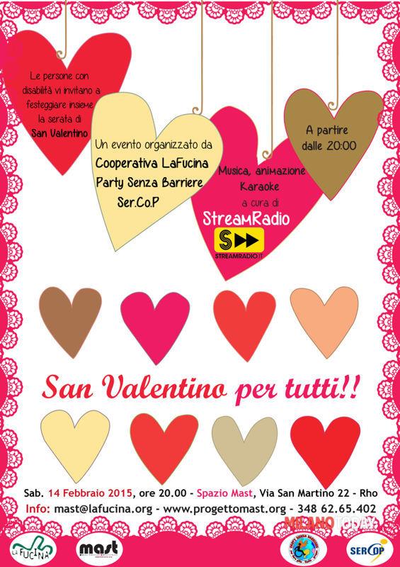 Frasi Di Amicizia Per San Valentino.San Valentino Per Tutti Allo Spazio Mast Di Rho Eventi A Milano