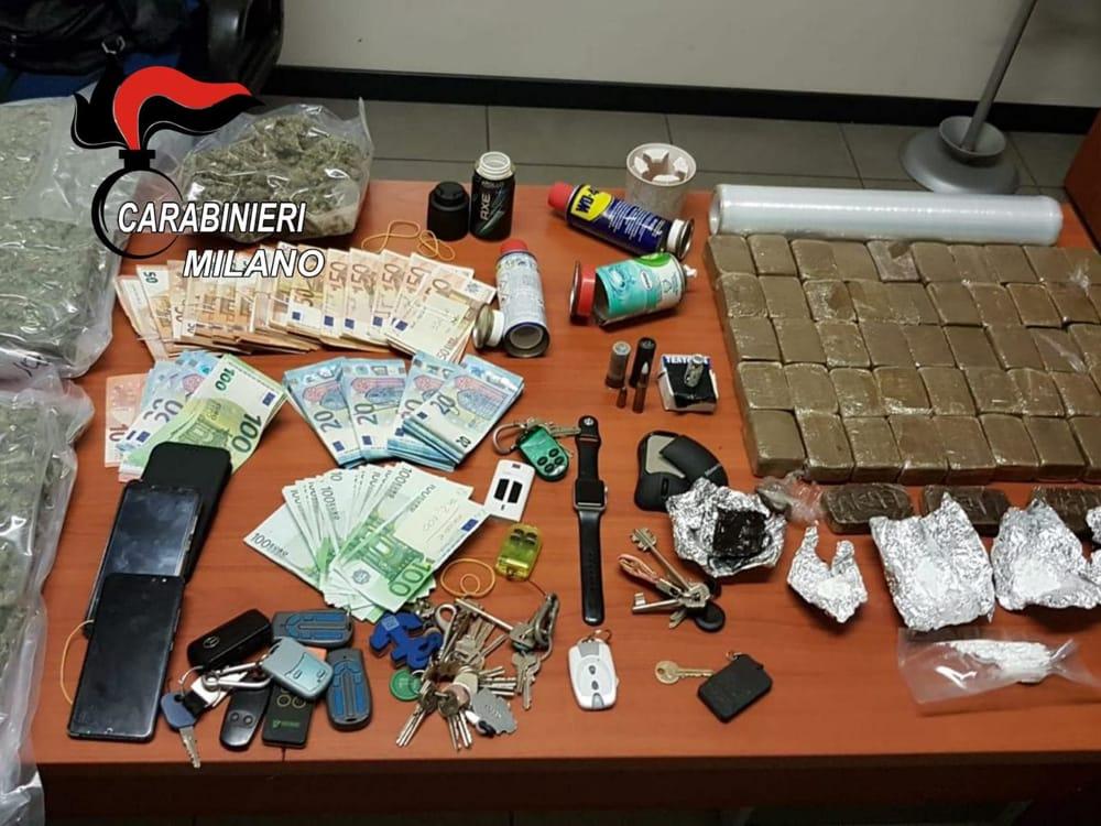 droga sequestrata camionista carabinieri-2