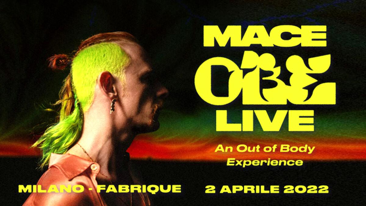 Mace il 2 aprile 2022 in concerto al fabrique di Milano